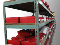 Large Spare Parts Inventory at Delta Industries Inc. | image
